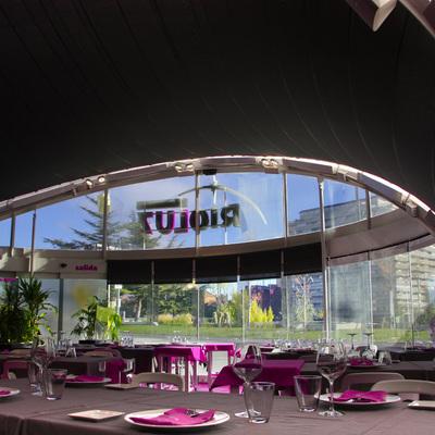 Instalación eléctrica Restaurante Rioluz en Cúpula del Milenio, Valladolid