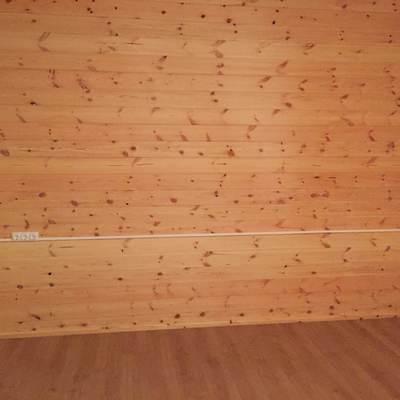 Instalación en cabaña de madera 1