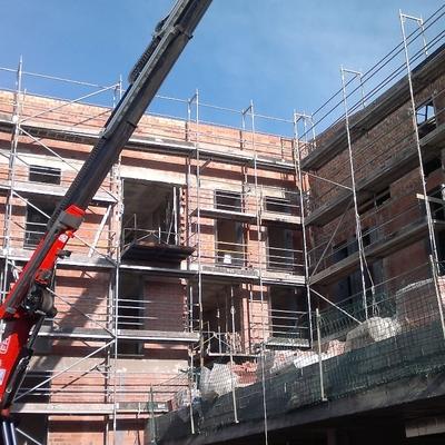Instalación en edificios de nueva construcción
