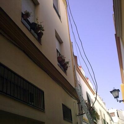 instalacion en fachadas