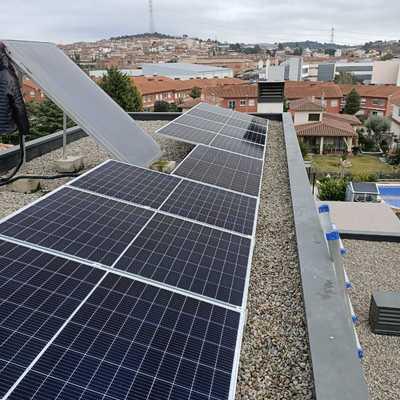 Instalación en Masquefa, 3kWp JA Solar,Huawei
