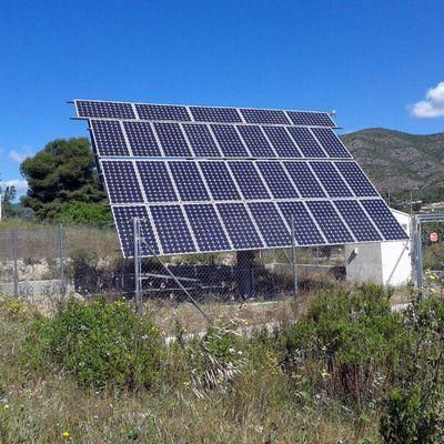 Instalación Fotovoltaica con Seguidor Solar