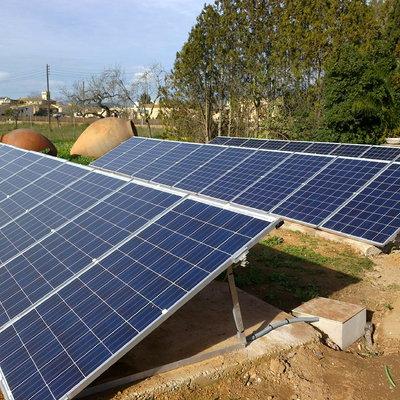 Instalación fotovoltaica en Santa Maria