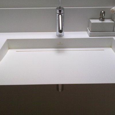 Instalación lavabo