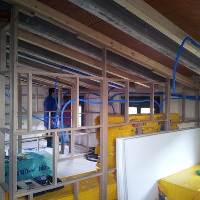 Instalación nueva en buhardilla