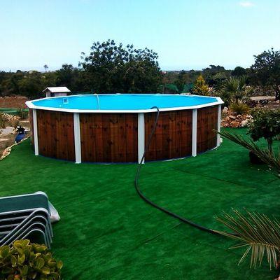 Precio construir piscina prefabricada pvc poli ster - Precio piscina poliester ...