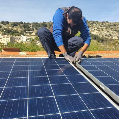 Instalación placas solares 1