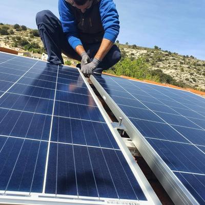 Instalación placas solares 2