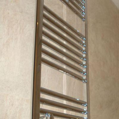 Instalación radiador toallero