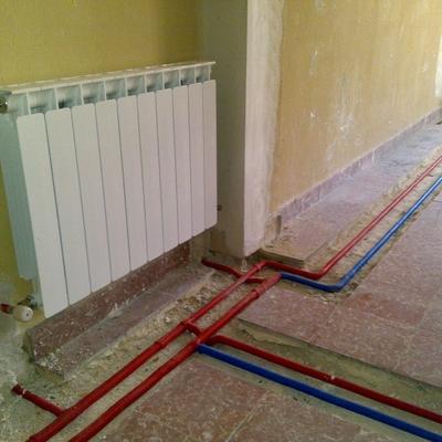 Instalacion radiadores   REFORMA
