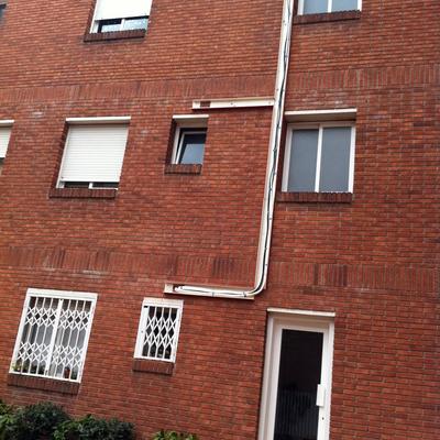 instalacion sobre fachada con canal