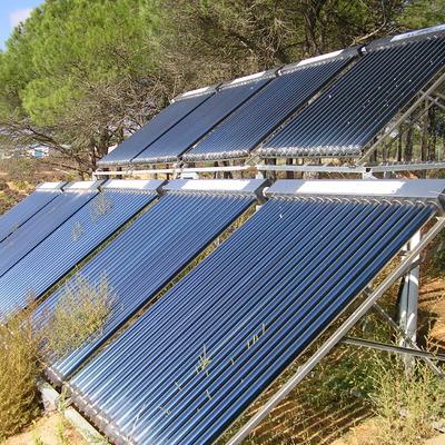 Instalación solar con tubos de vacio