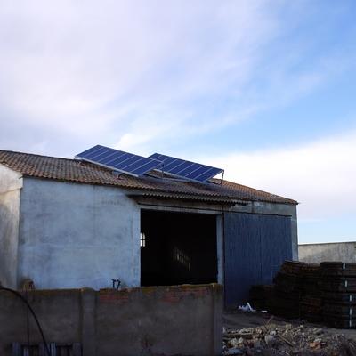 Instalación Solar Fotovoltaica Aislada en Pina de Ebro (ZGZ)