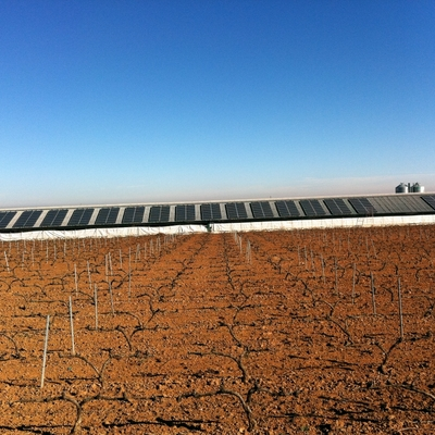 Instalación Solar Fotovoltaica en Aguarón (ZGZ)