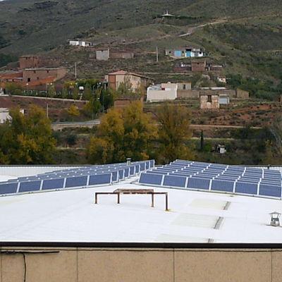 Instalación Solar Fotovoltaica en Brea de Aragón (ZGZ)