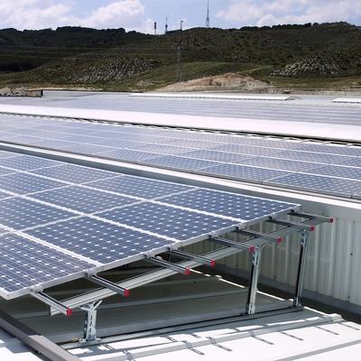 Instalación Solar Fotovoltaica en La Muela (ZGZ)