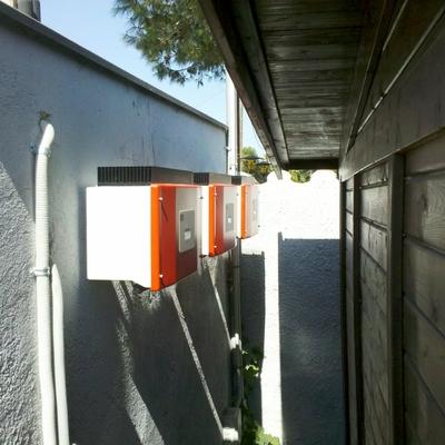 Instalación electricidad solar con conexión a compañía eléctrica