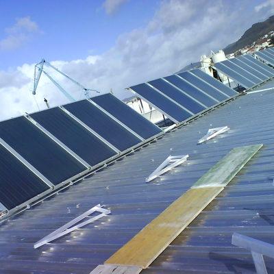 Instalacion solar térmcia para ACS y calefacción