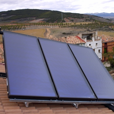 Instalación Solar Térmica en La Vilueña (ZGZ)