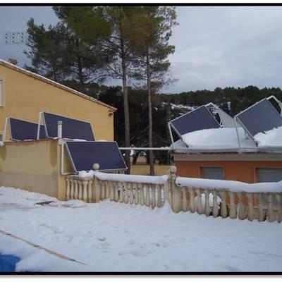 Instalación Solar Térmica para ACS + Calefacción