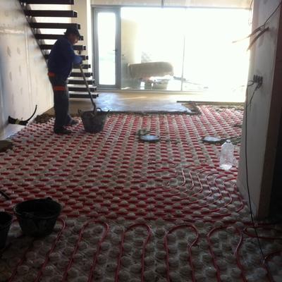Instalación Suelo Radiante de Loft en Alcobendas