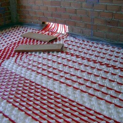 Instalación suelos radiantes