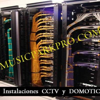 INSTALCION  DE DATOS DE CCTV, SONIDO PRO Y DOMOTICA