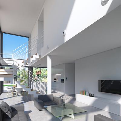 Interior de vivienda modular