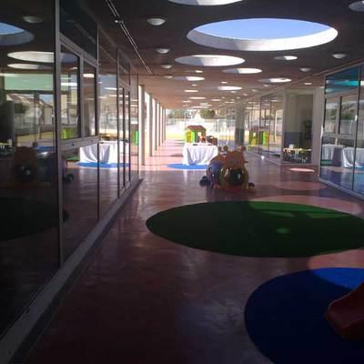 Reforma realizada en interior de guardería en San Pedro del Pinatar (Murcia)