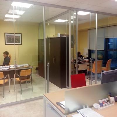 Interior de nuestras modernas oficinas