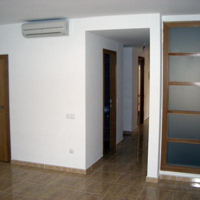 Interior de vivienda.