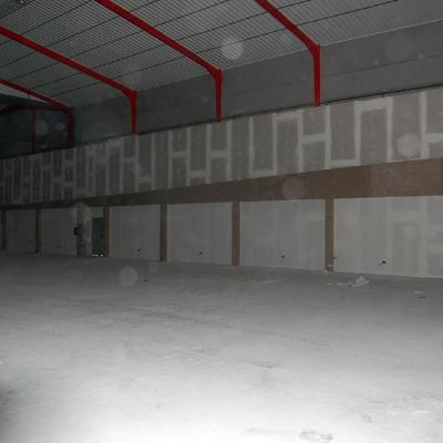 interior nave durante la obra