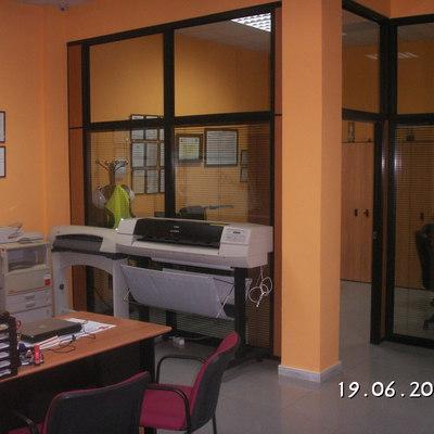 Interior Oficina Innosur.