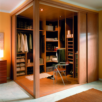 Interior vestidor
