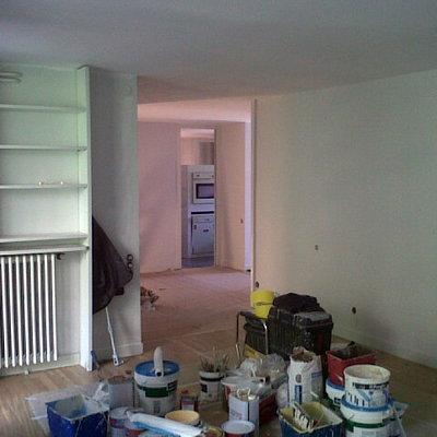Interior vivienda en Paseo Bonanova BCN