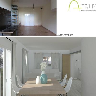 Casa N&A - Antes / Después
