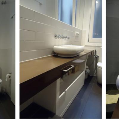Interiorismo y reforma baño en Barcelona