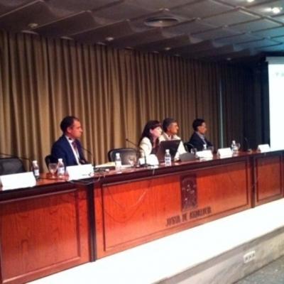 INTERVENCION EN PONENCIAS SOBRE REHABILITACION Y SEGURIDAD
