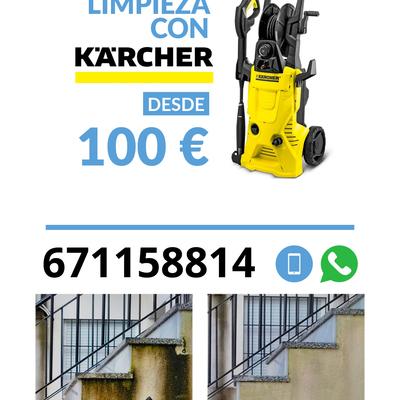 Limpieza con Karcher