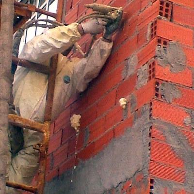 inyectado de fachadas