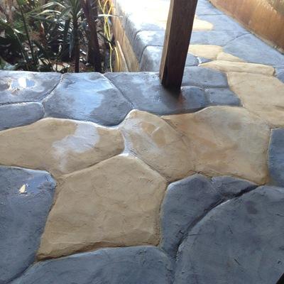 rampa simulando piedra