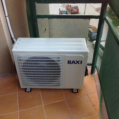 Instalación AA baxiroca A++