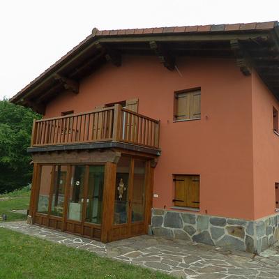 Fachada en Navarra