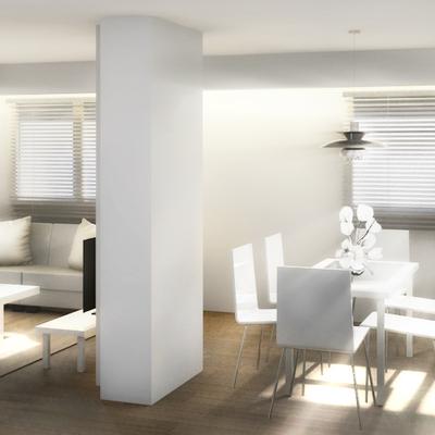 Interior salón - comedor