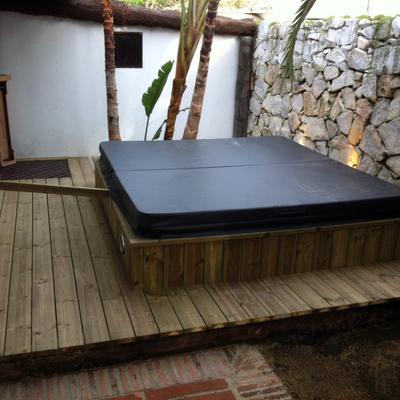 Presupuesto instalar jacuzzi exterior empotrado online - Precios de jacuzzi para exterior ...