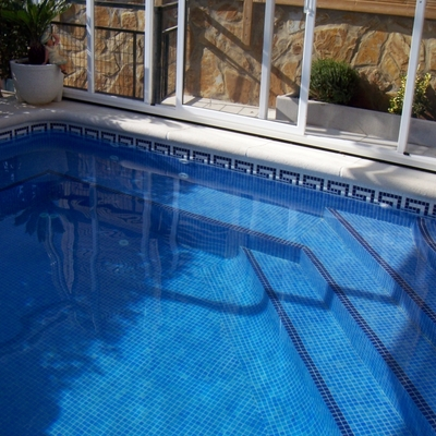 JACUZZI INTEGRADO EN LA PISCINA