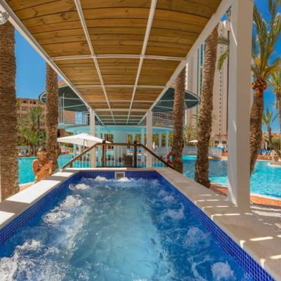 spá hidromasaje en hotel de Alicante