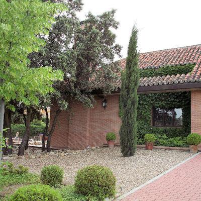 Jardin de entrada a vivienda