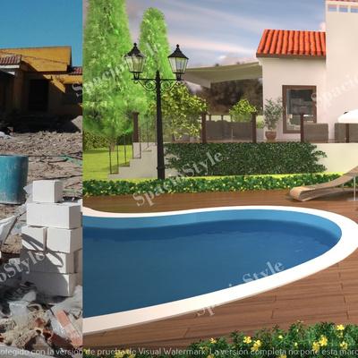 Reforma de jardin y piscina