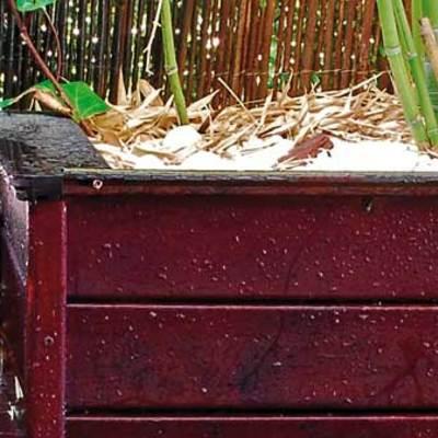 Jardineras a medida para tu terraza la harán diferente.